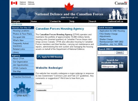 CFHA CLF 2.0 External Website