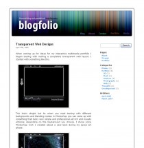 Blogfolio WordPress Template