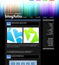 Blogfolio WordPress Template v2.0